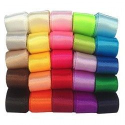 Satin girdle in various colors