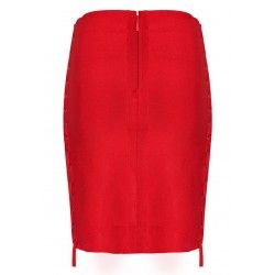 Bandage red skirt
