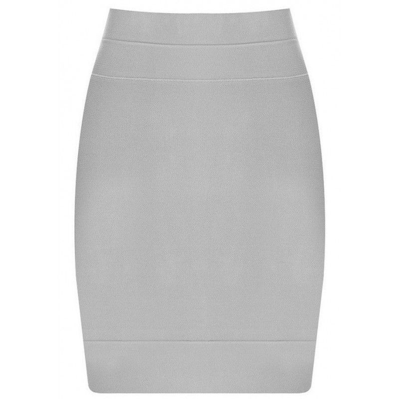 Bandage skirt gray