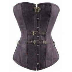 Retro steampunk corset with...